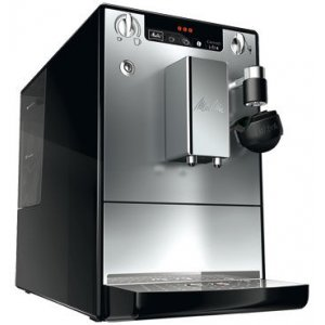 Автоматическая кофемашина Melitta Caffeo Lattea черно-серебристая