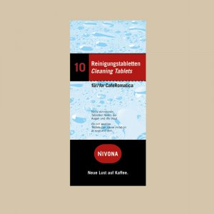 Таблетки д/чистки гидросистемы, 10 шт. Nivona NIRT 701