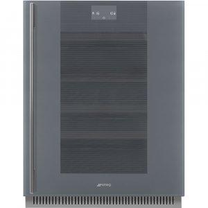 Встраиваемый винный шкаф Smeg CVI138RWS2
