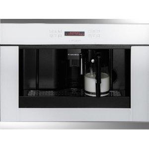 Встраиваемая кофемашина Kuppersbusch EKV 6500.1 W3 Silver Chrome