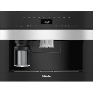 Встраиваемая кофемашина Miele CVA7440 EDST/CLST сталь CleanSteel