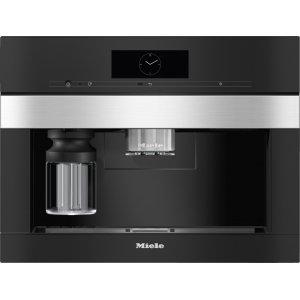 Встраиваемая кофемашина Miele CVA7845 EDST/CLST сталь CleanSteel