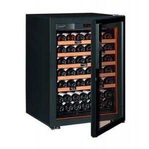 Винный шкаф EuroCave V-Revel-S (74 бут., черный, светлые полки)