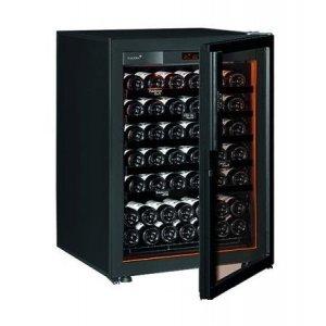 Винный шкаф EuroCave V-Revel-S (74 бут., черный, черные полки)