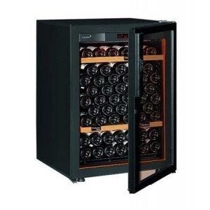 Винный шкаф EuroCave V-Revel-S (92 бут., черный, светлые полки)