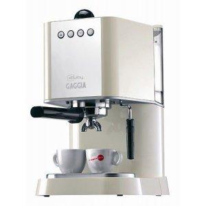 Рожковая кофеварка Gaggia New Baby White