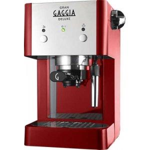Рожковая кофеварка Gaggia Gran Deluxe красный