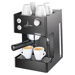 Рожковая кофеварка Saeco Aroma RST Black