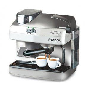 Рожковая кофеварка Saeco Via Veneto Combi De Luxe